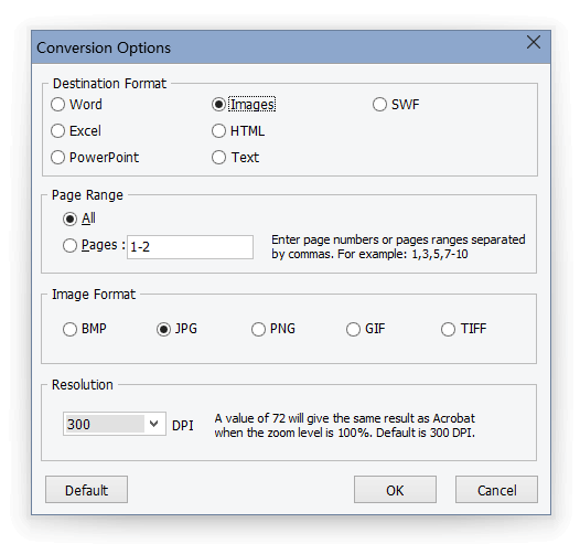 pdf image to text converter
